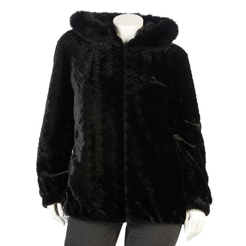 Faux Fur for PlusSize Gals