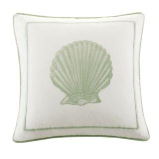 HH Brisbane Shell Square Decorative Pillow