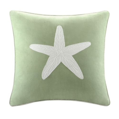 HH Brisbane Starfish Square Decorative Pillow