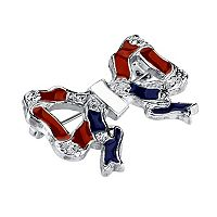 1928 Red, White & Blue Bow Pin
