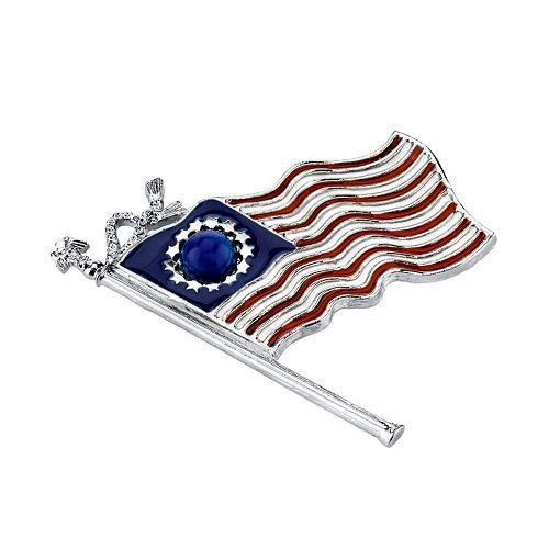1928 Betsy Ross American Flag Pin