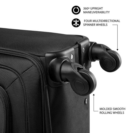 Winnipeg Jets 16-inch Laptop Wheeled Business Case