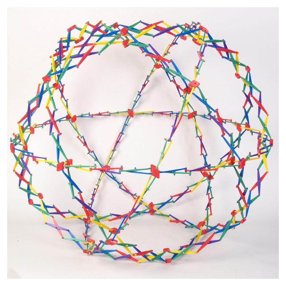 Hoberman Original Sphere - Rainbow by John N. Hansen Co.