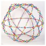 Hoberman Original Sphere - Rainbow by John N. Hansen Co.