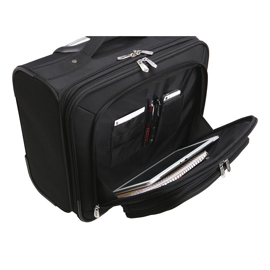 Edmonton Oilers 16-in. Laptop Wheeled Business Case