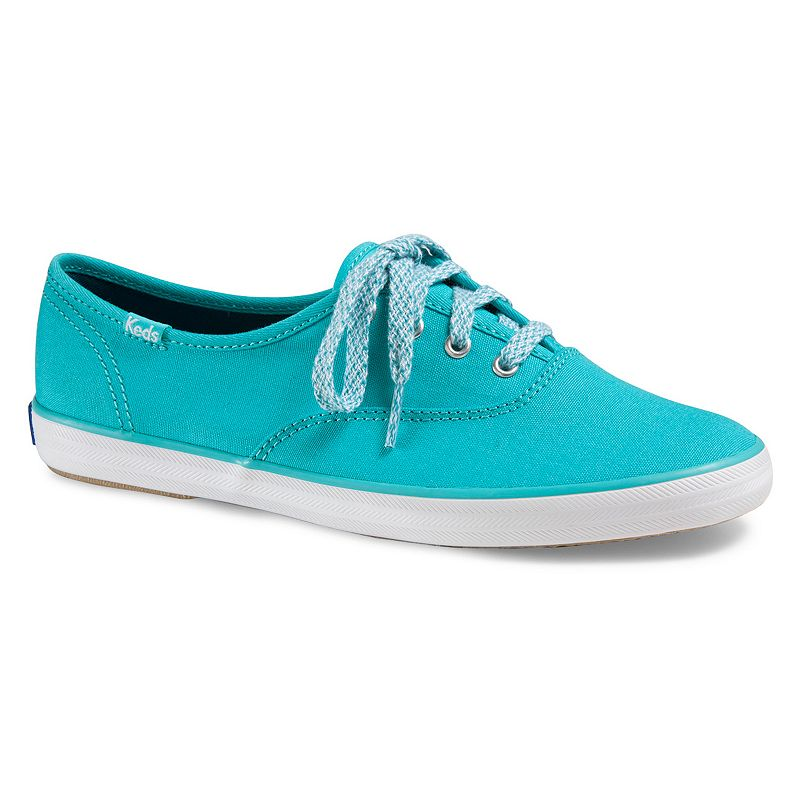 Teal And Coral Tennis Shoes