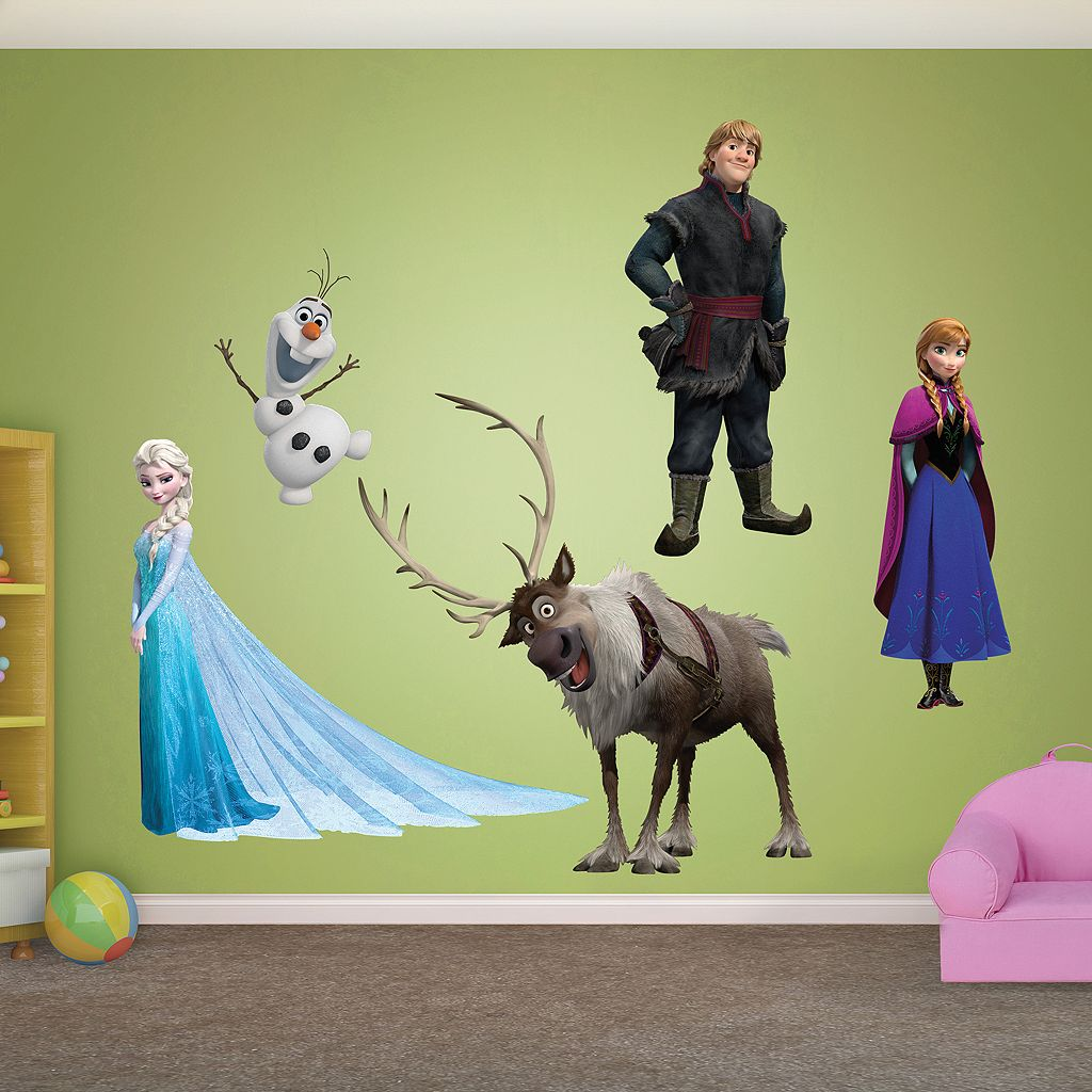Disney Frozen Character Wall Decals by Fathead