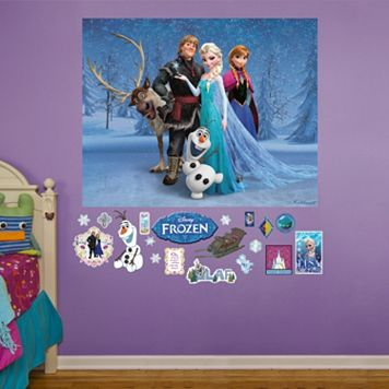 Disney Frozen Mural Wall Decals by Fathead
