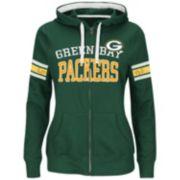 Majestic Green Bay Packers Pure Heritage VI Fleece Hoodie - Women's
