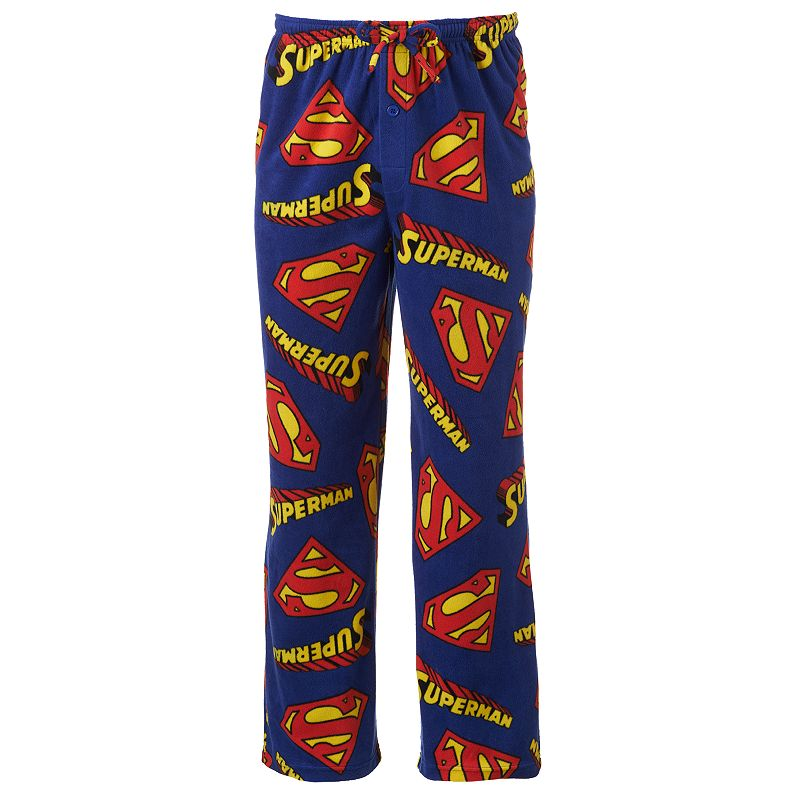 Superman Microfleece Lounge Pants - Big & Tall