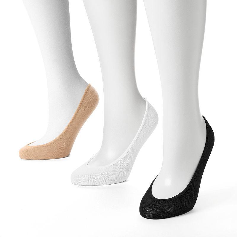 Keds 3-pk. Solid Liner Socks - Women