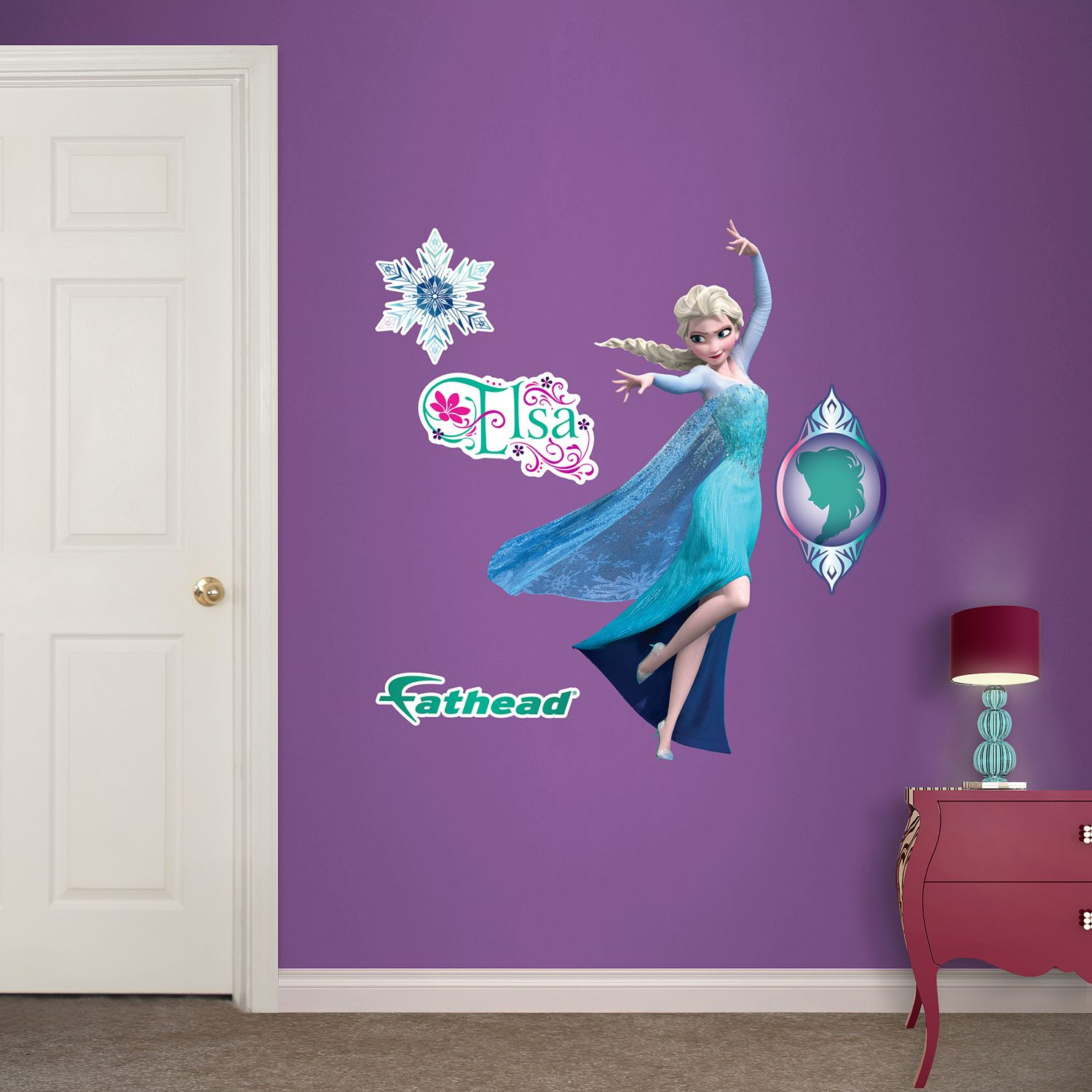 Disney Frozen Elsa Wall Decals By Fathead Part 48