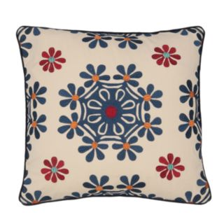 Jasmin Medallion Decorative Pillow