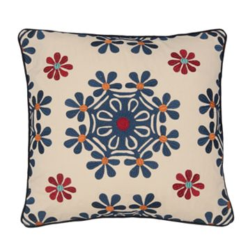 Jasmin Medallion Decorative Pillow