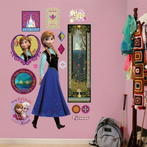 Disney Frozen Anna Wall Decals by Fathead