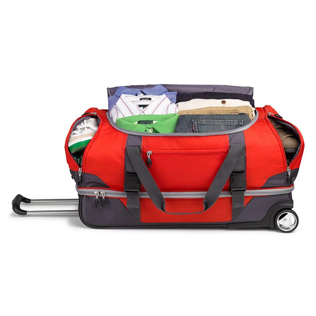 High Sierra Sportour 28-Inch Wheeled Drop-Bottom Duffel Bag