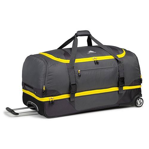 High Sierra Sportour 34-Inch Wheeled Drop-Bottom Duffel Bag