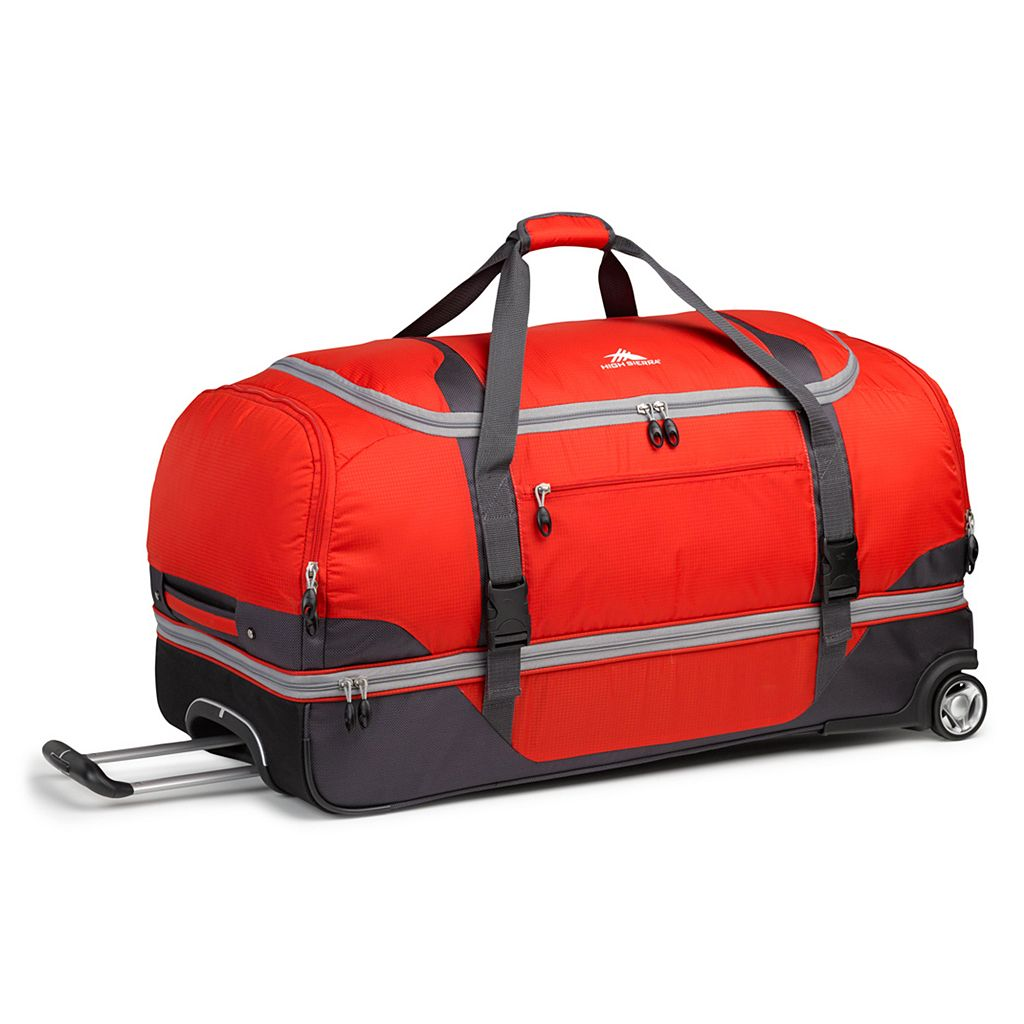 High Sierra Sportour 34-Inch Wheeled Drop-Bottom Duffel Bag