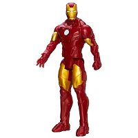 Marvel Avengers Assemble Titan Hero Series Iron Man Figure by Hasbro