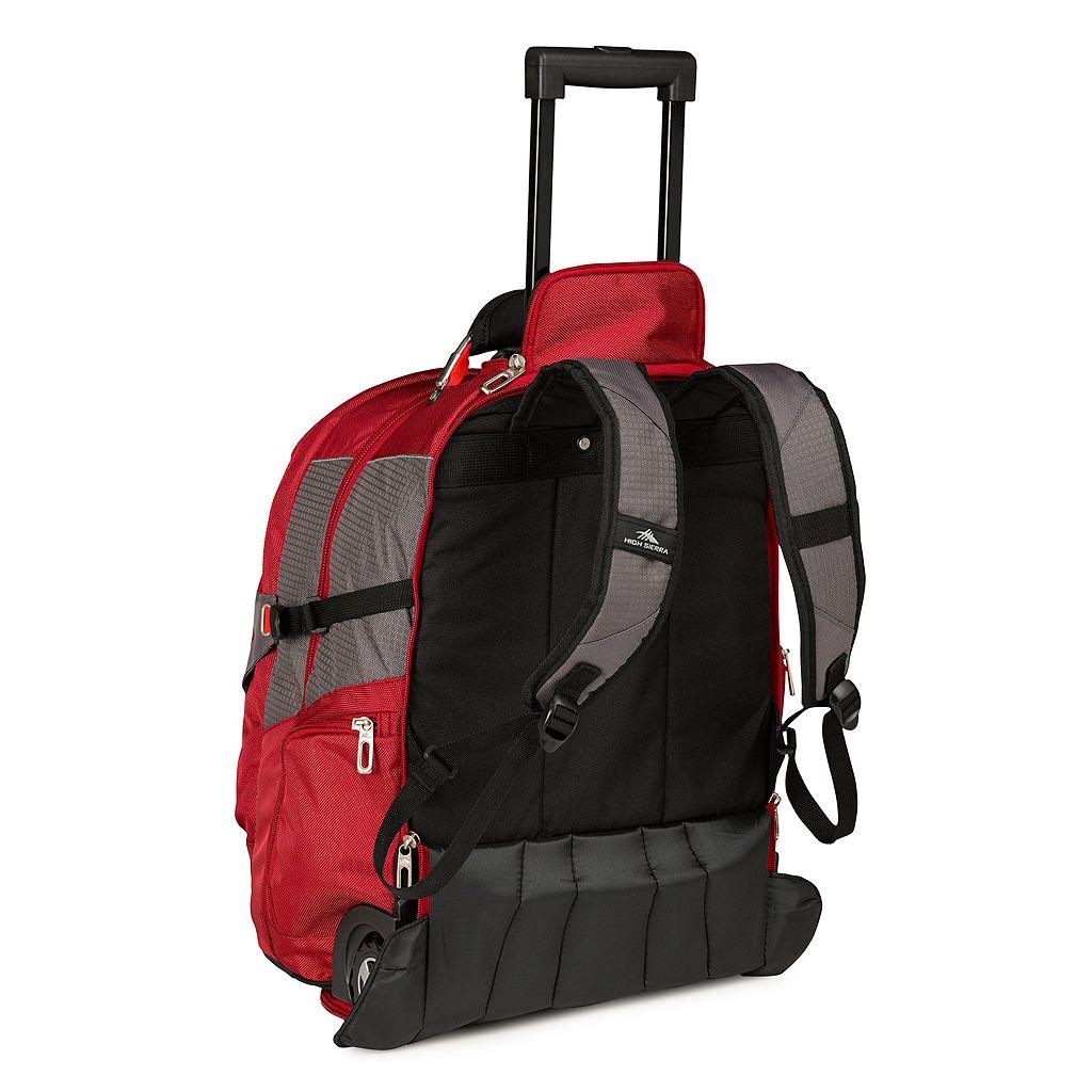 High Sierra Wheeled 17-in. Laptop Backpack