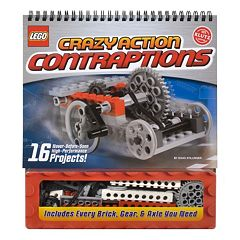 LEGO Crazy Action Contraptions Book by Klutz