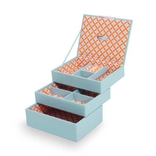 WOLF Stackables Mini Jewelry Box