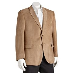 Men's Jean-Paul Germain Classic-Fit Microsuede Blazer