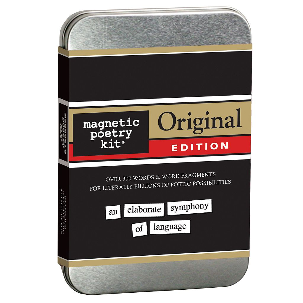 Magnetic Poetry Kit: Original Edition