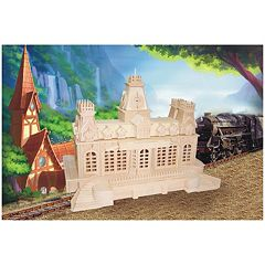 Puzzled Train Station Wood Puzzle by
