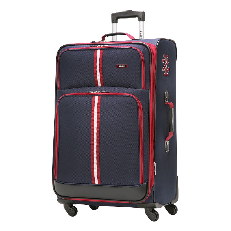 IZOD Luggage, Collegiate 24-in. Expandable Spinner Upright