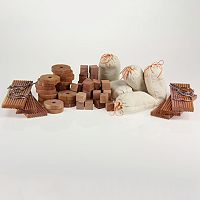 Cedar Fresh 71-pc. Block, Hanger Ring, Hang Up & Sachet Set