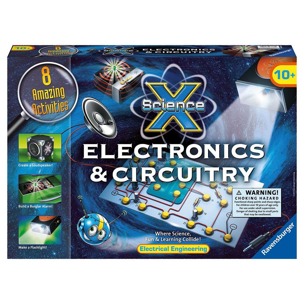 Ravensburger Science X Maxi Electronics & Circuitry Kit