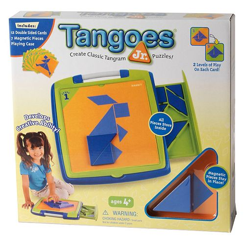 Tangoes Jr. Magnetic Tangram Puzzle