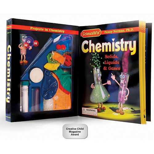 ScienceWiz Chemistry Kit