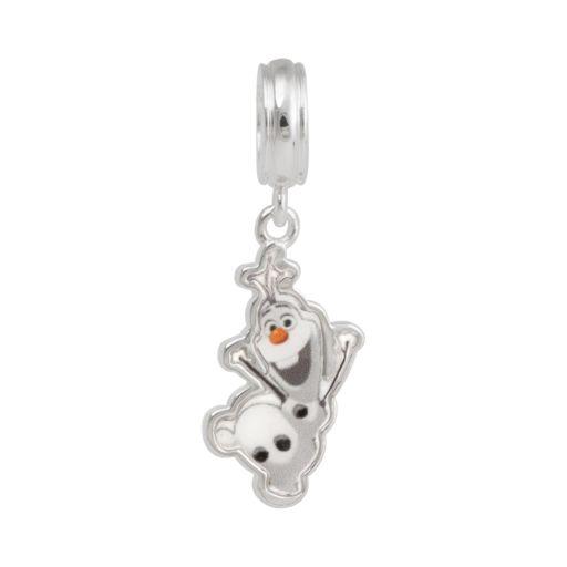 Disney Frozen Sterling Silver Olaf Charm
