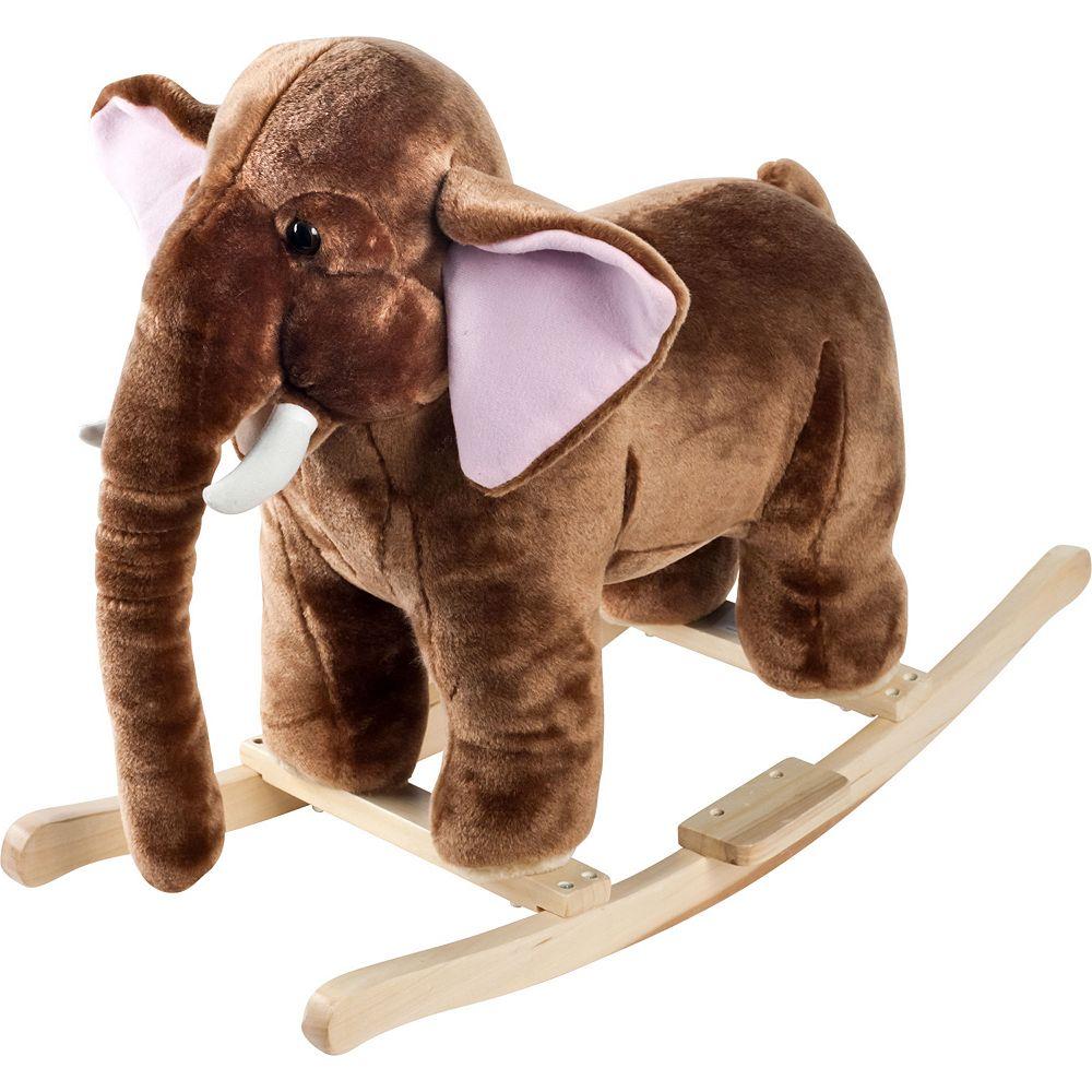 Happy Trails Plush Rocking Mo Mammoth
