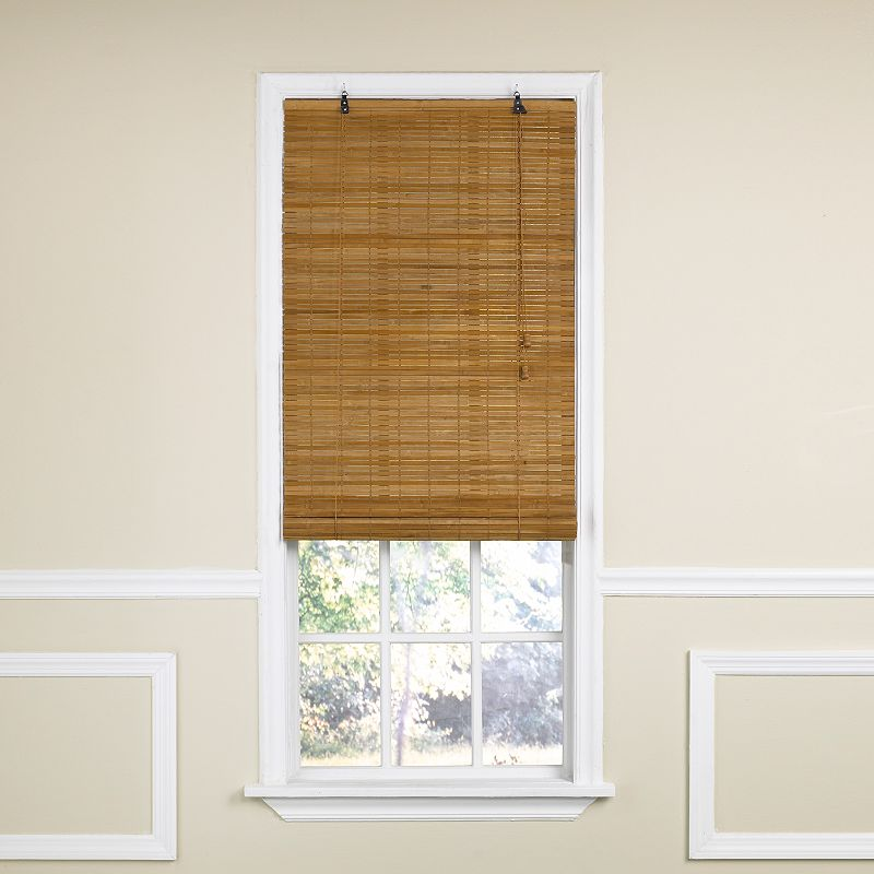 Bamboo shades window treatment kohl 39 s for What does light filtering blinds mean