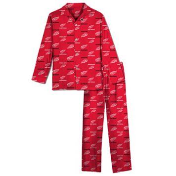 Detroit Red Wings Pajama Set - Boys 8-20