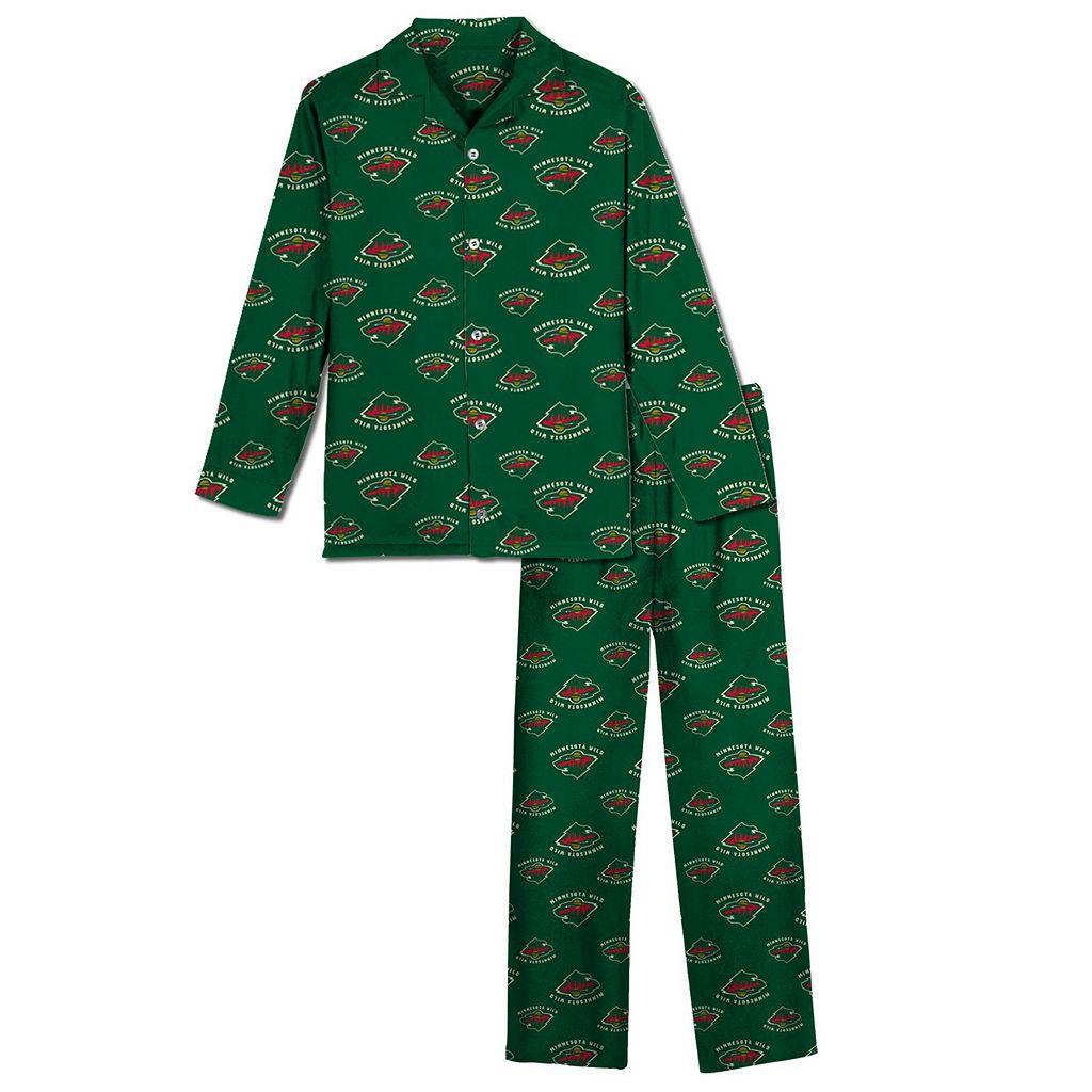 Minnesota Wild Pajama Set - Boys 8-20