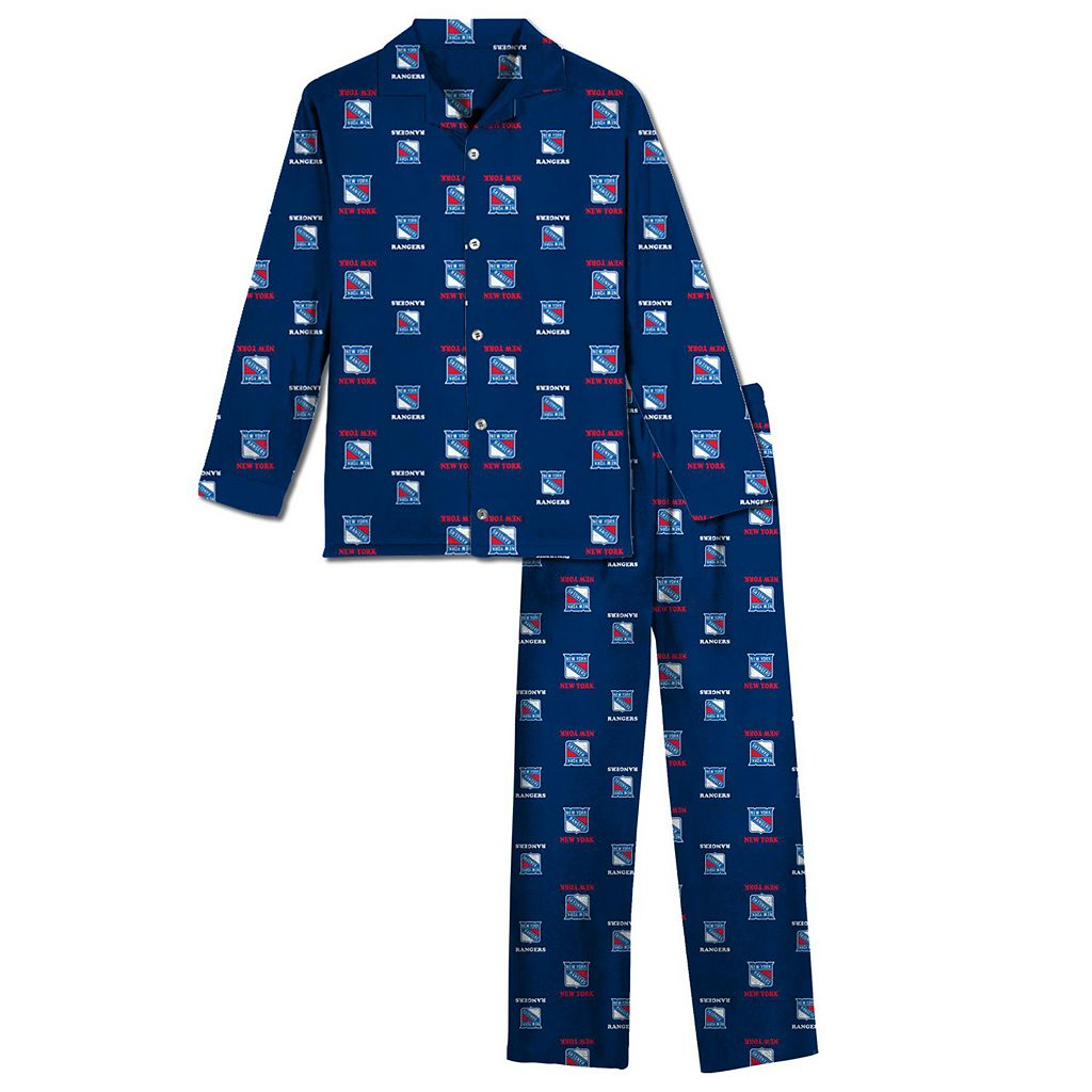 New York Rangers Pajama Set - Boys 8-20