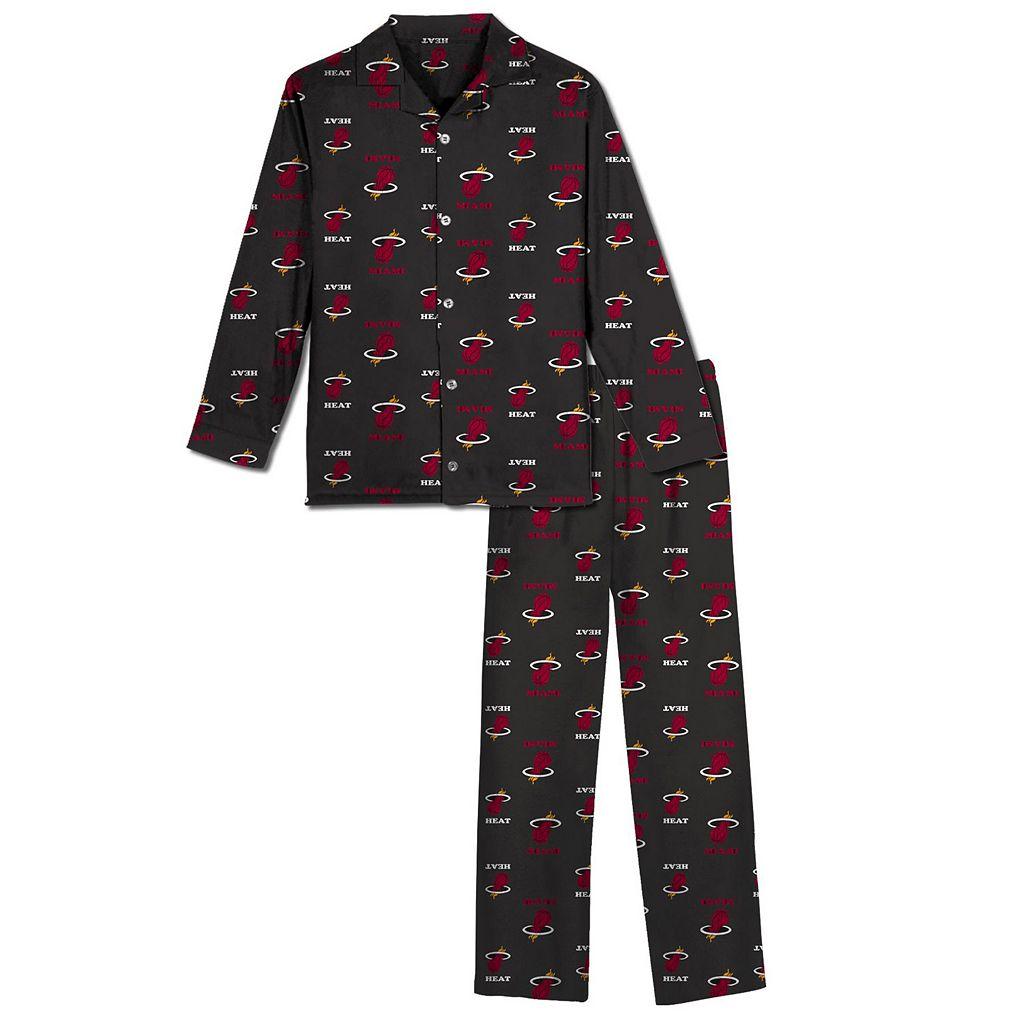 Boys 8-20 Miami Heat Pajama Set