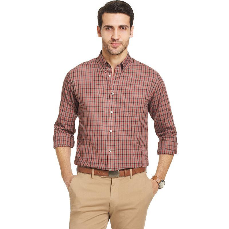 Plaid down shirt kohl 39 s for Van heusen plaid shirts