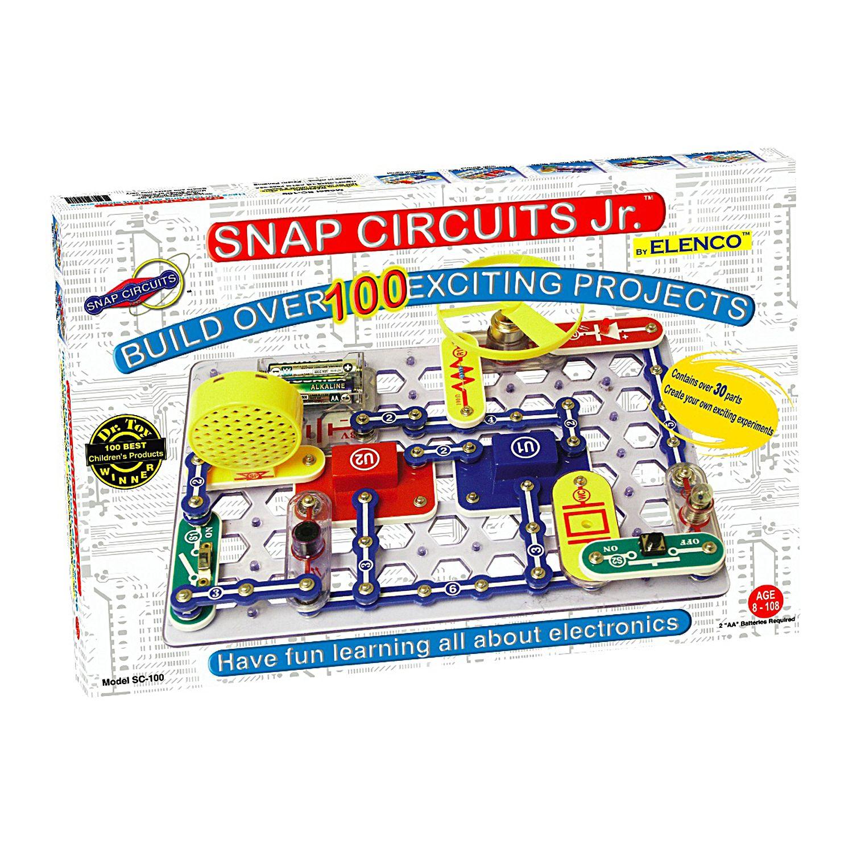 elenco snap circuits jr kit rh kohls com elenco snap circuits 500 elenco snap circuits 750