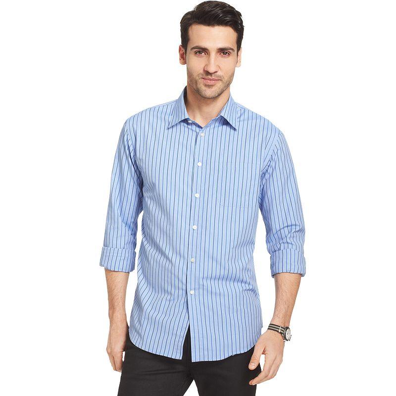 Cotton polyester moisture wicking shirt kohl 39 s for Moisture wicking button down shirts