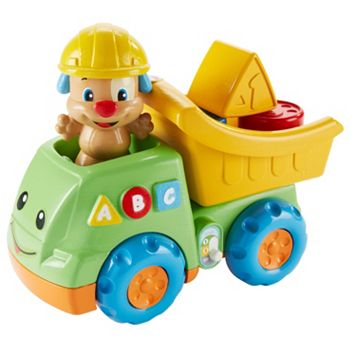 Fisher-Price Laugh & Learn Puppy's Dump Truck