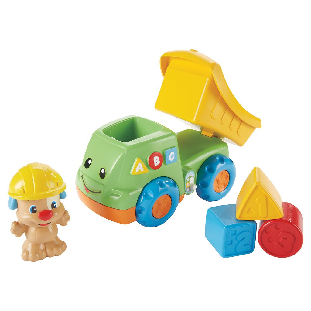 Fisher-Price Laugh and Learn Puppy's Dump Truck