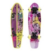 Disney Fairies 21 in Kids Wood Cruiser Skateboard with Tinkeristic Graphic
