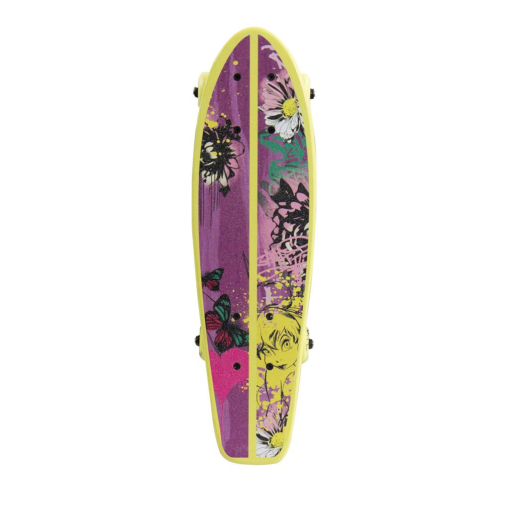 Disney Fairies 21-in. Kids Wood Cruiser Skateboard with Tinkeristic Graphic