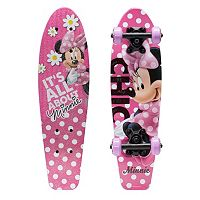 Disney Minnie Mouse 21-in. Wood Cruiser Skateboard - Kids