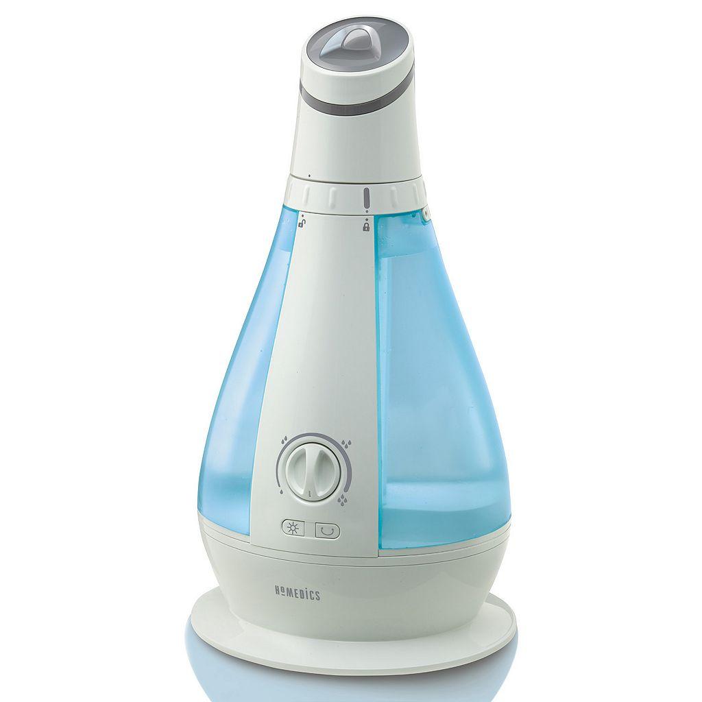 HoMedics Cool Mist Oscillating Ultrasonic Humidifier
